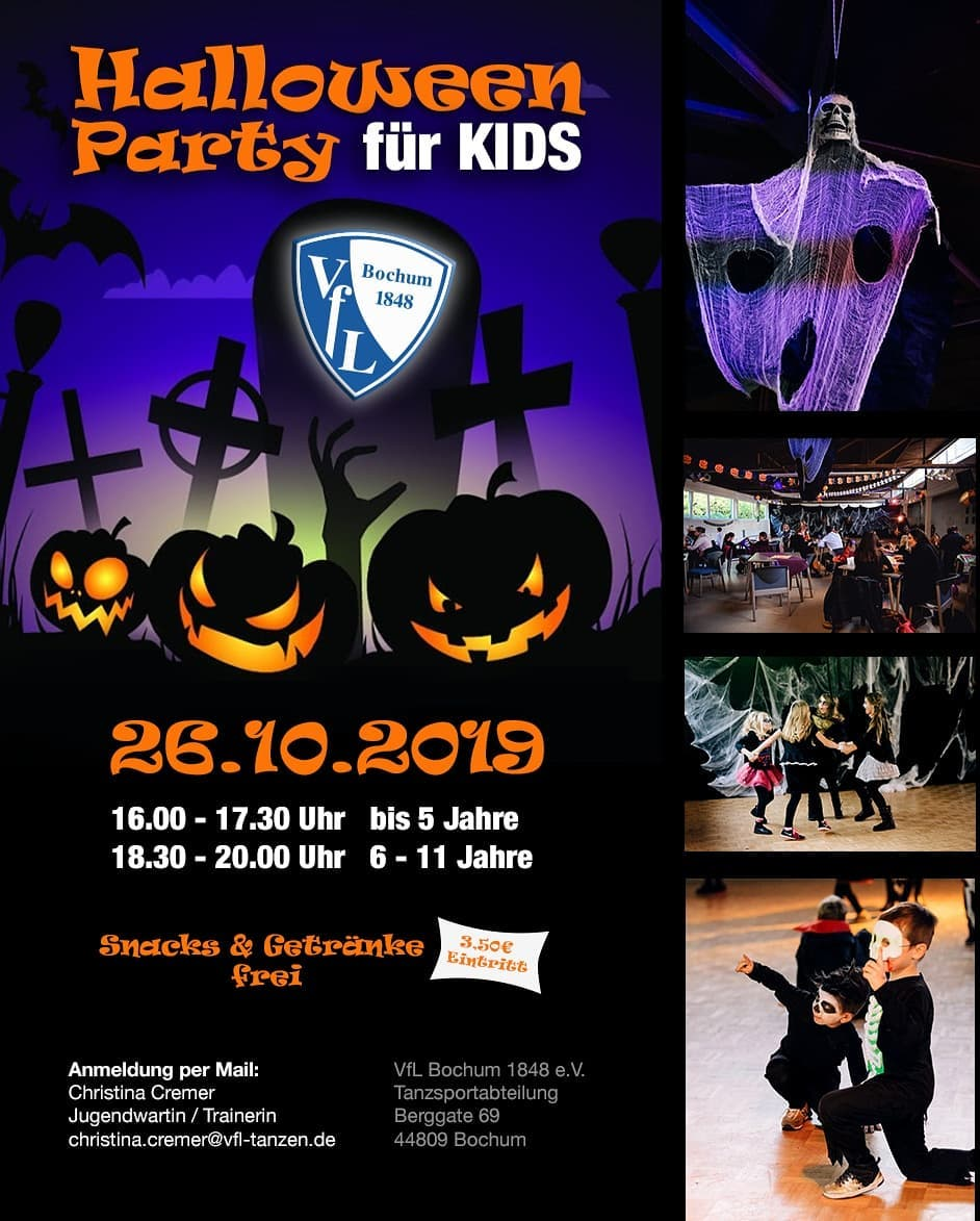 Halloweenparty Kids 2019